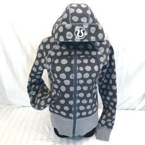 Rare Pattern Lululemon Scuba Grey with Polka Dots